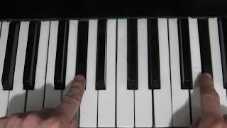 Выучи За 50 Секунд Огги и Кукарачи На Пианино