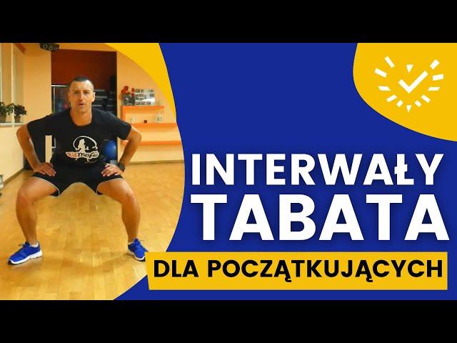 Trening Interwałowy TABATA dla Początkujących - Ćwiczenia na spalanie bez sprzętu w domu