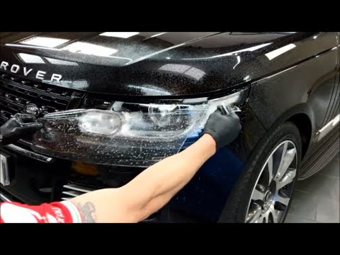 How To PPF / Clearbra / Apply Paint Film To A Headlight