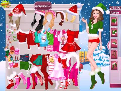Barbie Christmas Night Dress Up Online Game Girl Games