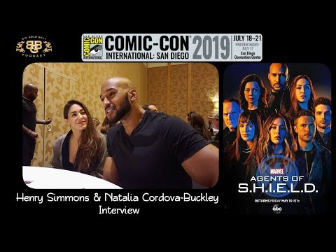 SDCC 2019 | Marvel's Agents of S.H.I.E.L.D. Henry Simmons & Natalia Cordova-Buckley Interview