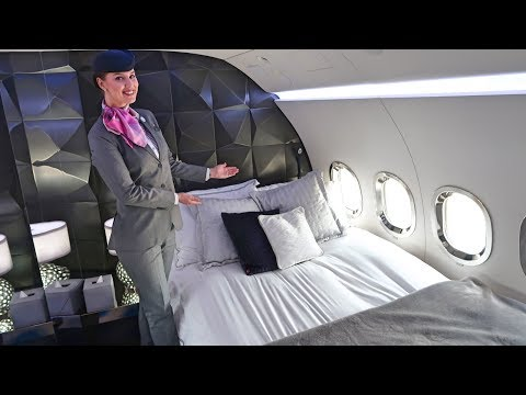 $100 Million Boeing Business Jet - Royal Jet
