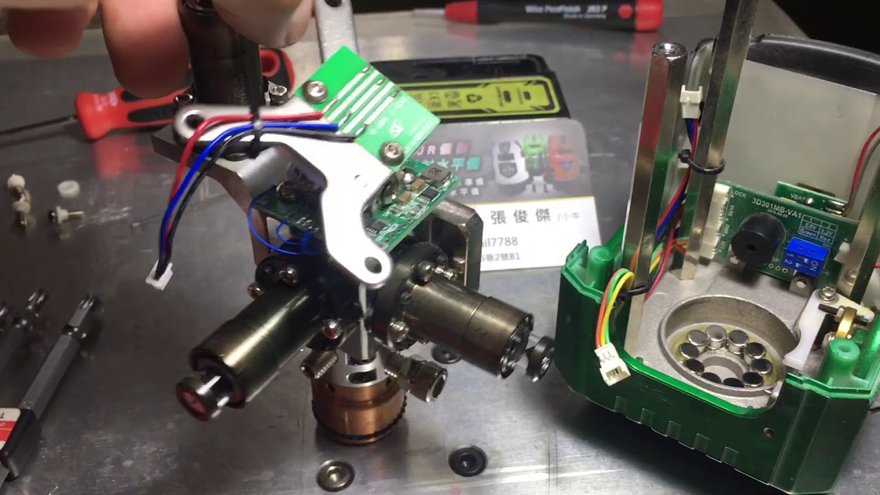 雷射水平儀 專業維修 3D好壞分辨 - YouTube