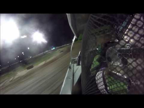 Tyler Sistrunk Motorsports - North Florida Speedway - In Car Camera - 6-24-2017
