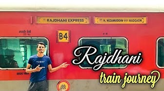 Goa Rajdhani Express ||The Journey in Majestic konkan || Vlog Part- 2