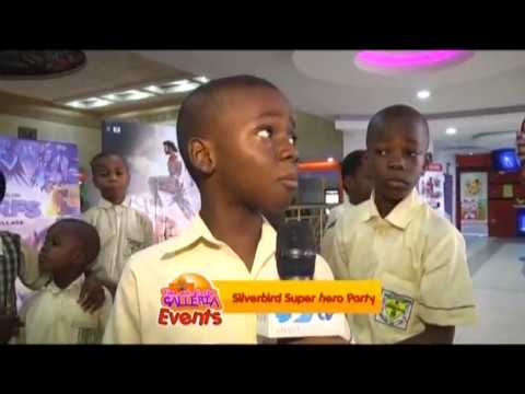 Time Out At The Galleria: Silverbird Super Hero Party