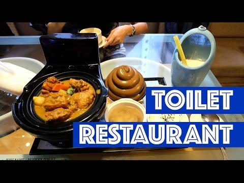 Toilet Restaurant in Taiwan/Nhà hàng bồn cầu ở Đài Loan