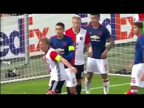 Фейеноорд – Манчестер Юнайтед 1:0 Видео обзор матча. Лига Европы 2016-17. 15.09.2016