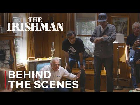 The Irishman | Martin Scorsese Directing  Behind the Scenes | Netflix
