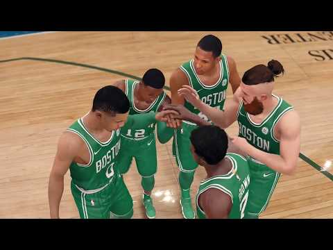 NBA Live Playoffs 2018 Milwaukee Bucks vs Boston Celtics Full NBA Game Highlights | NBA Live 18