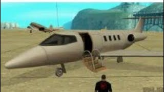 How to get jet plane in gta san andreas