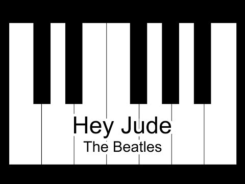 Hey Jude - The Beatles Piano Tutorial