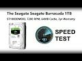Seagate Desktop 1TB Speed Test with Black Magic - ST1000DM003