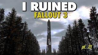 I Ruined Fallout 3 With Mods - Part 21 - Being A Scientist