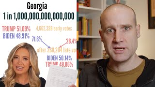 Why was Biden's win calculated to be ONE IN A QUADRILLION?