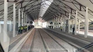 Nueva estación ferroviaria de Canfranc (Huesca)