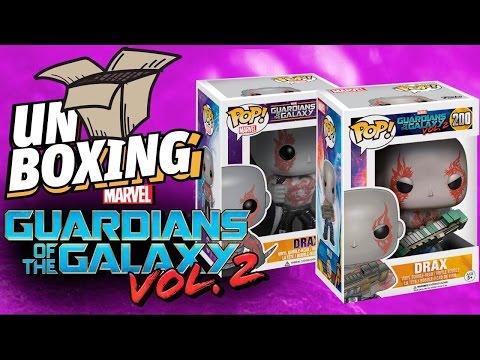 Comparación Drax Vol 1 y Vol 2 Funko Pop #UnBoxing