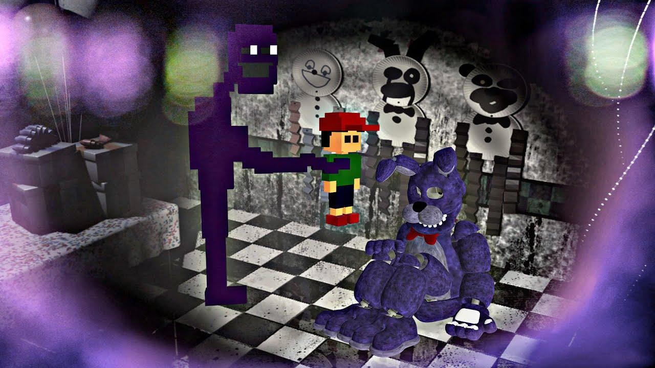 METIENDO un ALMA dentro de BONNIE | Five Nights at Freddy's: Killer in Purple