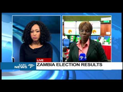 Latest update on Zambia election results counting