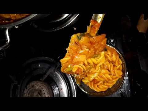 Instant Red sauce pasta Recipe Rasoi.me