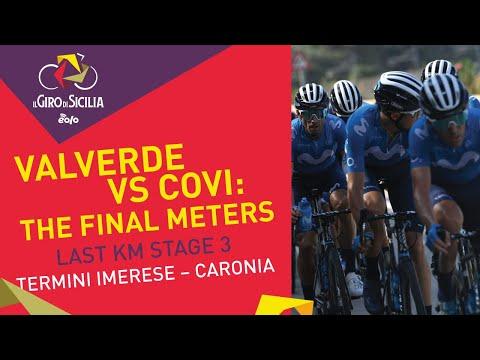 Il Giro di Sicilia EOLO 2021   Stage 3   Last KM