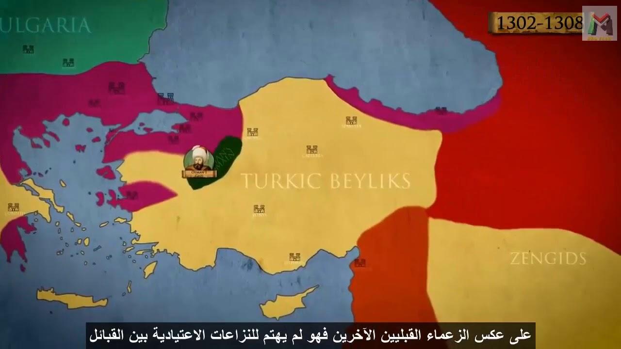 تحضير درس نشأة الدولة العثمانية من الإمارة إلى السلطنة في مادة التاريخ للسنة  الثالثة متوسط - الجيل الثاني | موقع التعليم الجزائري - Dzetude