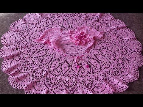 Вязание для детей с крючком платья сарафаны с 4 лет 5 лет