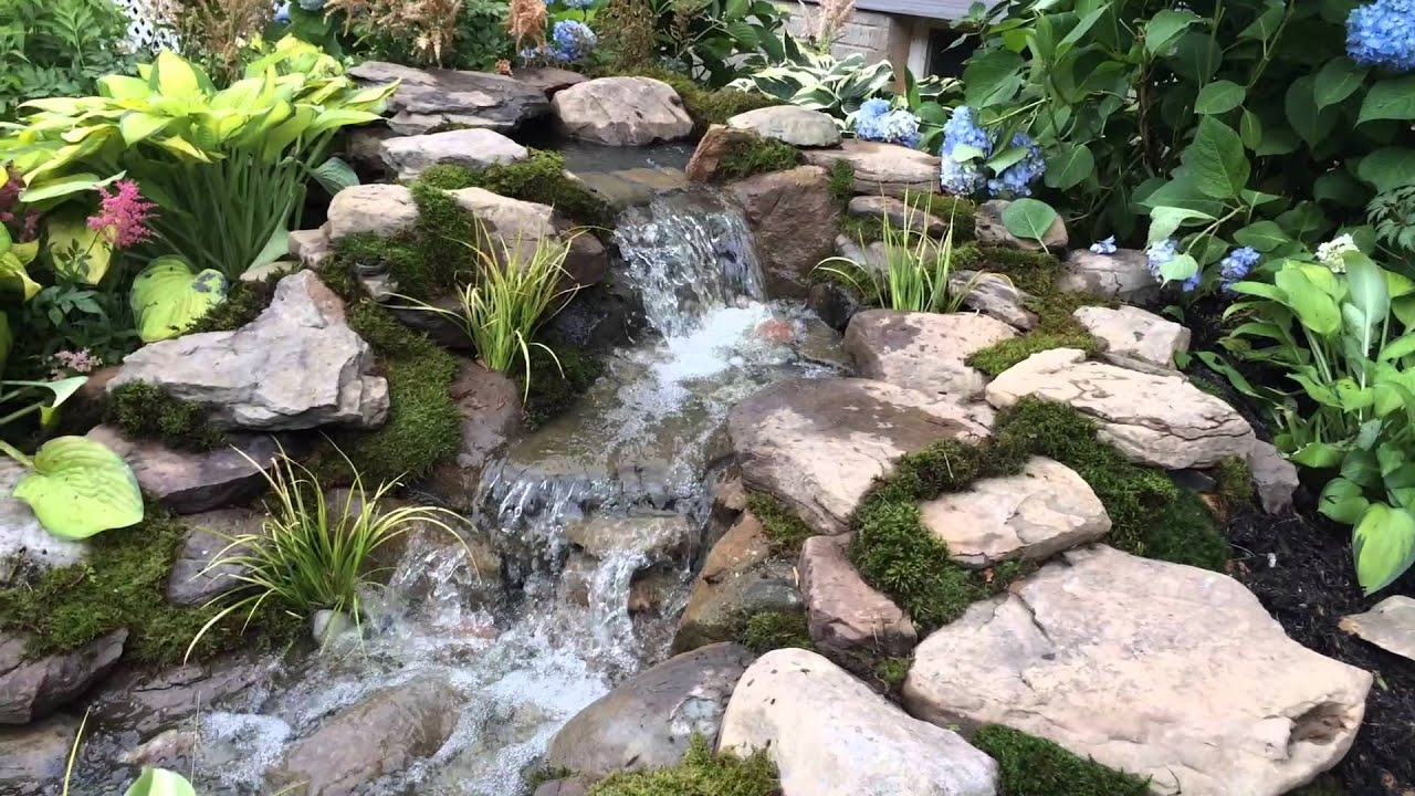 Leaking pond waterfall repair harford county md for Fish pond repair