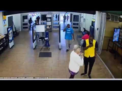 Surveillance video shows 3 armed juveniles target elderly woman at Florida Walmart, steal her car