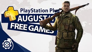 PlayStation Plus (PS+) August 2019