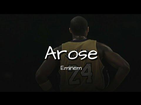 Eminem - Arose (Remembering Kobe) Lyric Video