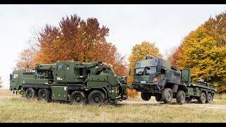 Geschütztes Berge- & Kran-Fahrzeug mit EMPL Unterlift