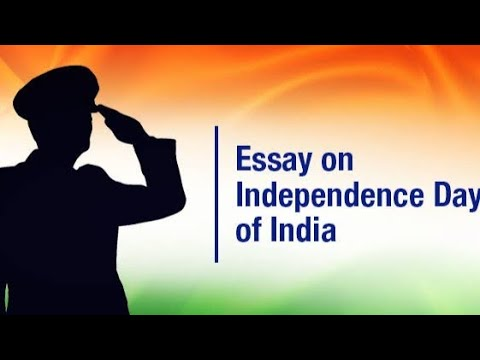 "Write a small paragraph on""Independence Day."" in  easy and simple words."