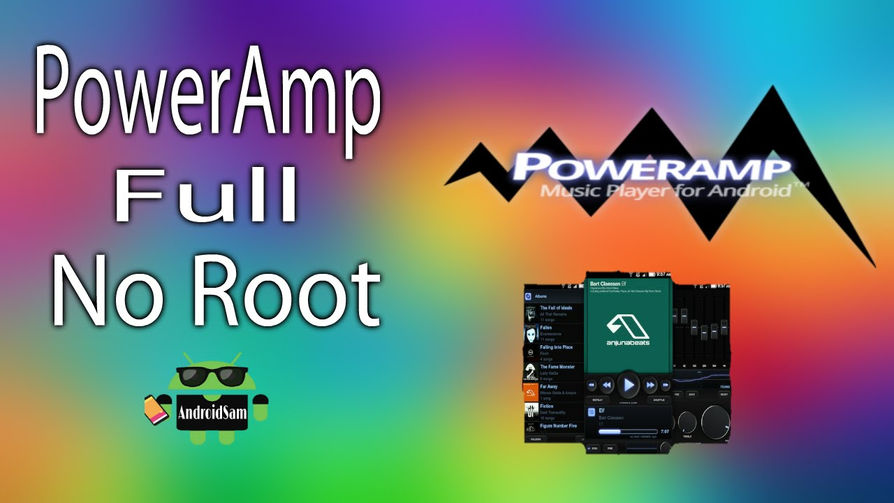 poweramp full apk no root 2018