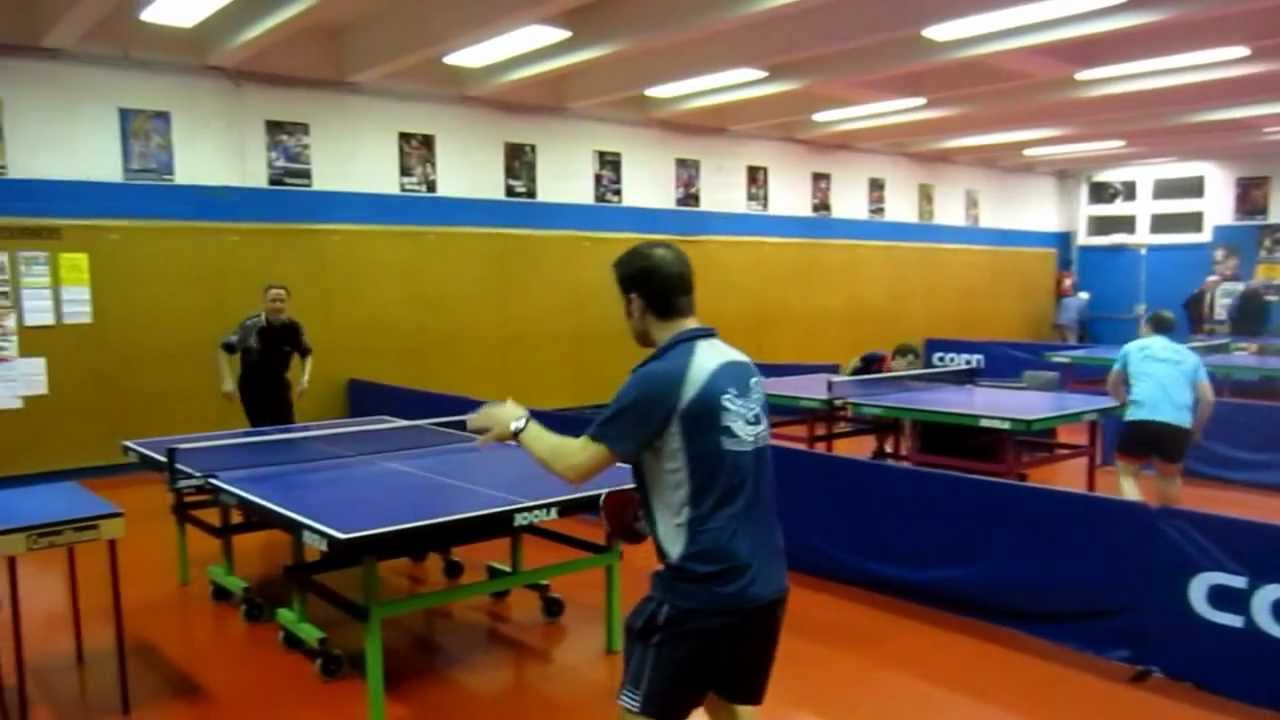 Salle de tennis de table du club de bois colombes sports le 9 f vrier 2013 youtube - Club tennis de table paris ...