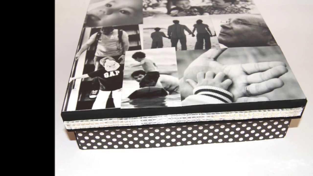 caja personalizada con fotos youtube