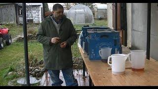 Дегустация домашнего портвейна и кальвадоса из дубовых бочек