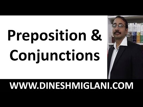 BEST CONCEPT SESSION ON PREPOSITION AND CONJUNCTIONS