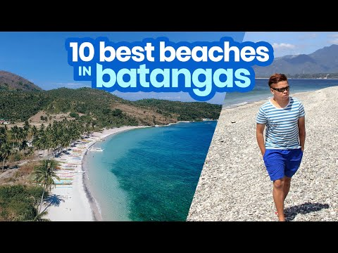 TOP 10 BEST BEACHES IN BATANGAS | #Philippines