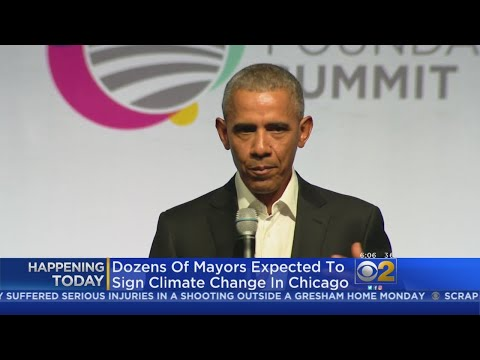 Obama To Speak At Chicago Climate Summit