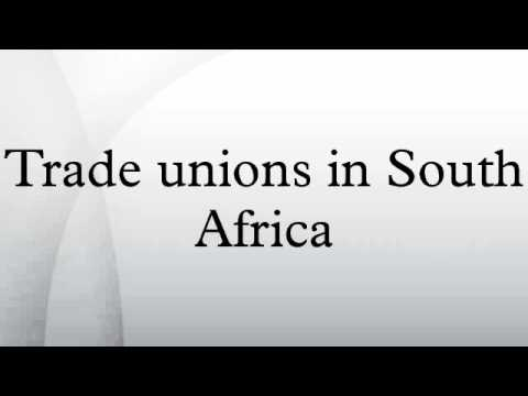 Trade unions in South Africa