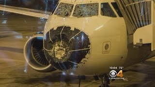 Plane Makes Emergency Landing At DIA After Flying Through Hail Storm