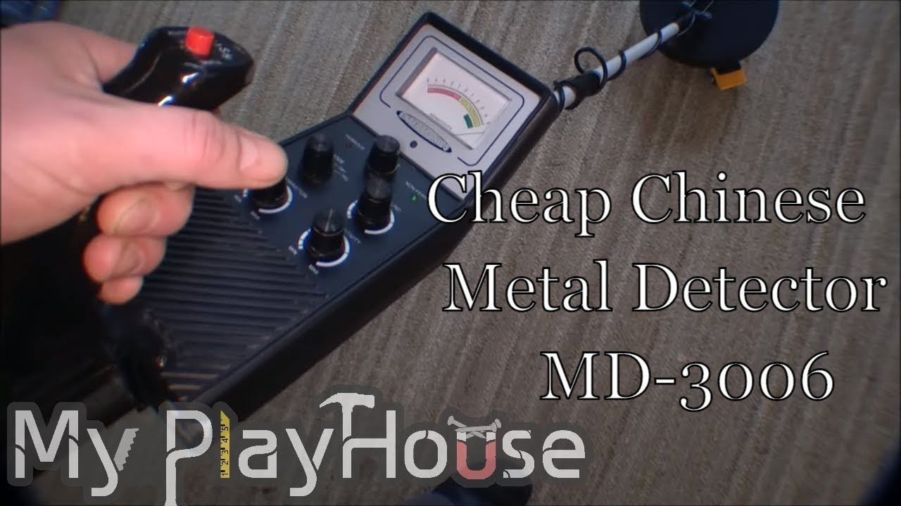 35fe2bfe526 Playing with cheap Chinese metal detector MD-3006 - 115 - YouTube