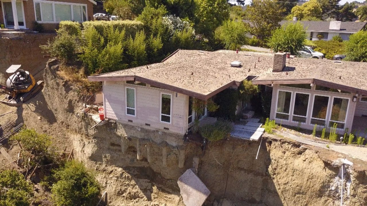 Home Nearly About To Fall Off Cliff Is On The Market For