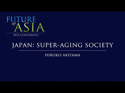 Japan:  Super-Aging Society