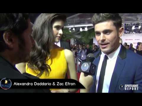 Interview: Zac Efron & Alexandra Daddario Talk