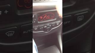 Bruit clim 206
