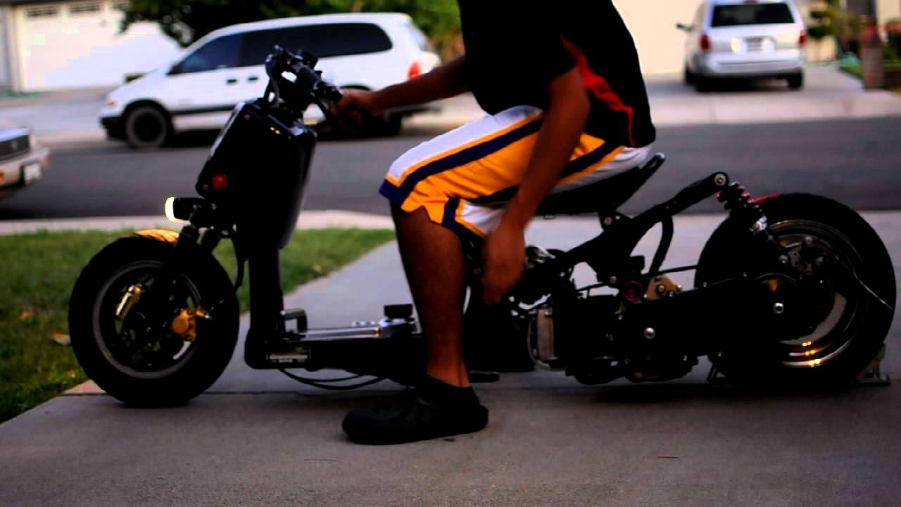 Honda Gy6 Ruckus Start Up Youtube