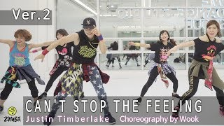 CAN'T STOP THE FEELING - Justin Timberlake / Ver.2 / Dance / Choreography / ZIN™ / Zumba® / Wook