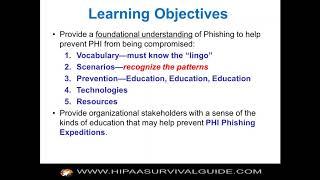 HIPAA Phishing Expedition
